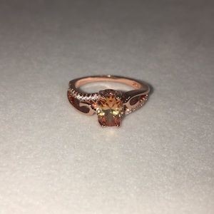 Jewelry - Rose Gold Tone Ring Size 6.5!